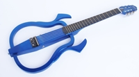 Neu im Angebot: Silent Classic Gitarre blau metallic