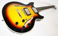 Neue Jazz & Blues E-Gitarre, Semi Acoustic, *Toppreis* sb