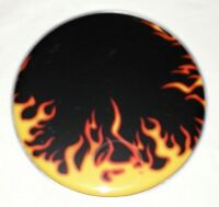 Schlagzeugfell - Drumhead - 22 Zoll Top Motiv ! FLAME